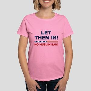 Let Them In Women's Dark T-Shirt