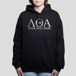 Lambda Theta Alpha Lette Women's Hooded Sweatshirt