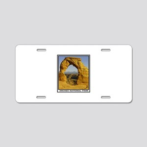 ARCHES Aluminum License Plate