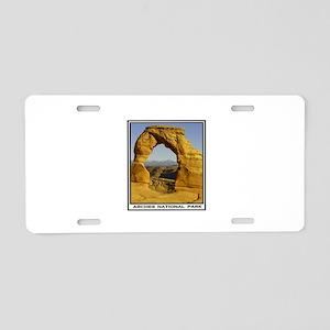 ARCHES Aluminum License Plate