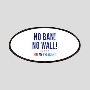 No Ban! No Wall! Patches