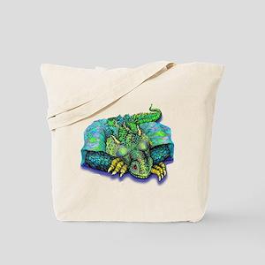 SLEEPING DRAGON Tote Bag