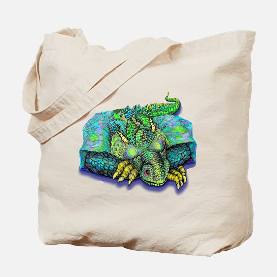 SLEEPING DRAGON Tote Bag