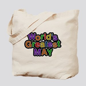Worlds Greatest May Tote Bag