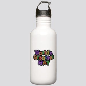 Worlds Greatest May Water Bottle