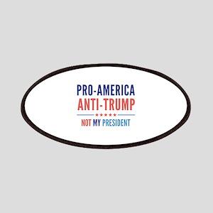 Pro-America Anti-Trump Patches