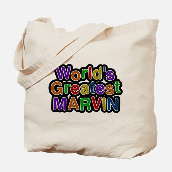 Worlds Greatest Marvin Tote Bag
