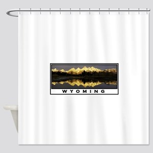 WYOMING Shower Curtain