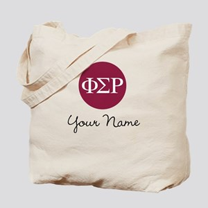 Phi Sigma Rho Letters Personalized Tote Bag
