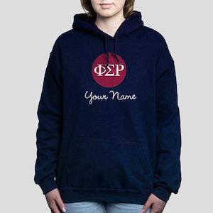 Phi Sigma Rho Letters Pe Women's Hooded Sweatshirt