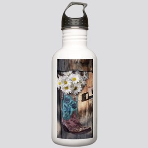 rustic daisy western c Stainless Water Bottle 1.0L