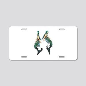 OCEANS Aluminum License Plate