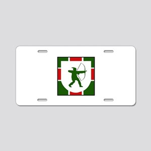 HOOD Aluminum License Plate