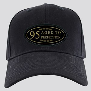 Fancy 95th Birthday Black Cap