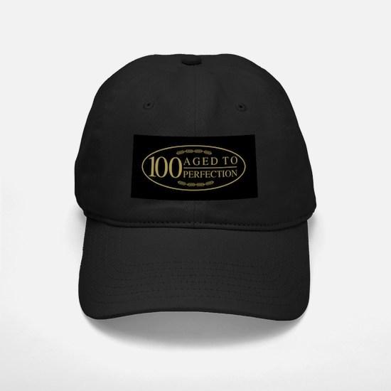 Fancy 100th Birthday Baseball Hat