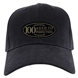 100th birthday Baseball Cap with Patch