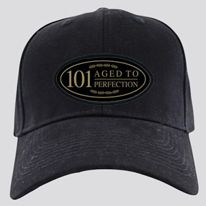 Fancy 101th Birthday Black Cap