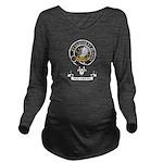 Badge - Majoribanks Long Sleeve Maternity T-Shirt
