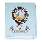 Badge - Majoribanks baby blanket