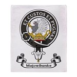 Badge - Majoribanks Throw Blanket