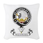 Badge - Majoribanks Woven Throw Pillow