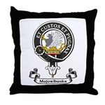 Badge - Majoribanks Throw Pillow