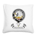 Badge - Majoribanks Square Canvas Pillow