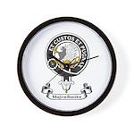Badge - Majoribanks Wall Clock
