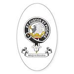 Badge - Majoribanks Sticker (Oval 10 pk)