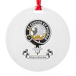 Badge - Majoribanks Round Ornament