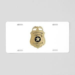 International Private Investigator Aluminum Licens
