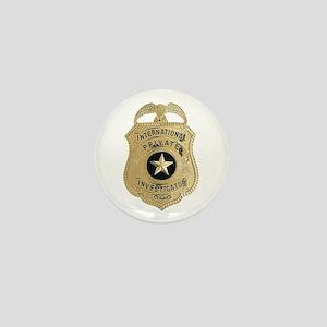International Private Investigator Mini Button