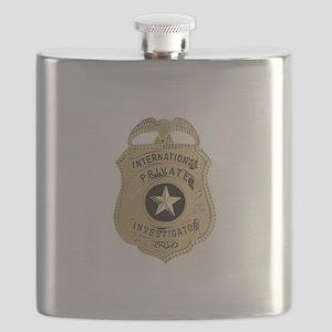International Private Investigator Flask