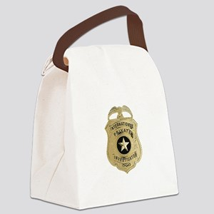International Private Investigator Canvas Lunch Ba