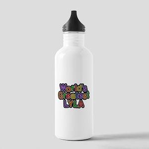 Worlds Greatest Lyla Water Bottle