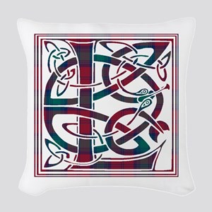 Monogram - Lindsay Woven Throw Pillow