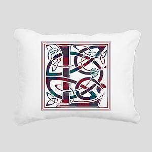 Monogram - Lindsay Rectangular Canvas Pillow