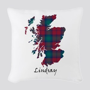 Map - Lindsay Woven Throw Pillow