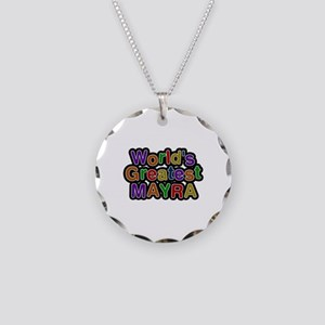 World's Greatest Mayra Necklace Circle Charm