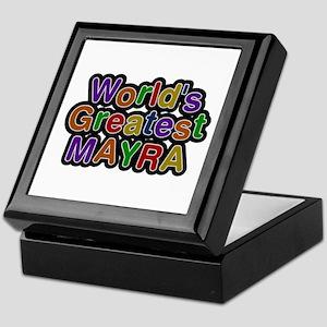 World's Greatest Mayra Keepsake Box