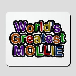 World's Greatest Mollie Mousepad