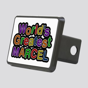 World's Greatest Marcel Rectangular Hitch Cover