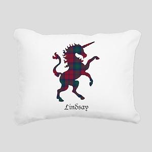 Unicorn - Lindsay Rectangular Canvas Pillow