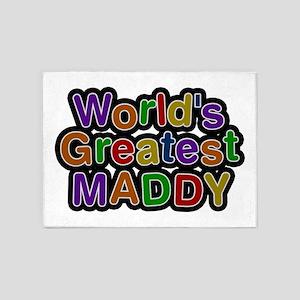 World's Greatest Maddy 5'x7' Area Rug