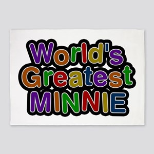 World's Greatest Minnie 5'x7' Area Rug