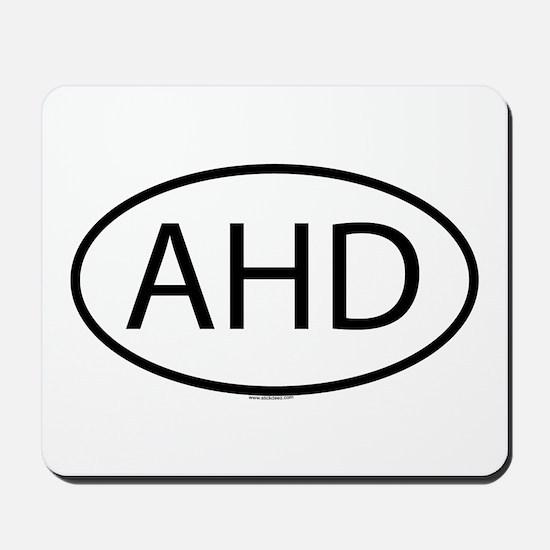 AHD Mousepad