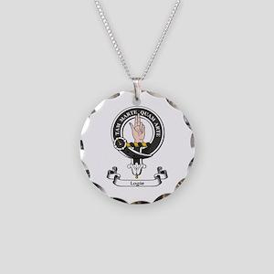 Badge - Logie Necklace Circle Charm