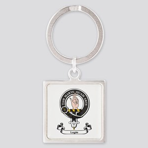 Badge - Logie Square Keychain