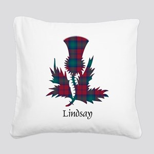 Thistle - Lindsay Square Canvas Pillow