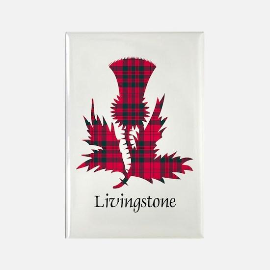 Thistle - Livingstone Rectangle Magnet